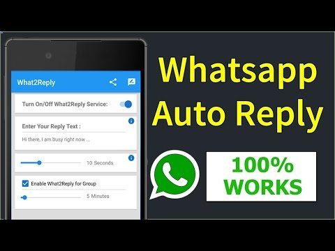 Whatsapp Auto Reply | Auto Reply Whatsapp Messages | Without ROOT (Hindi)