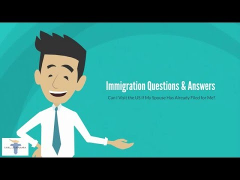 Can My Spouse Visit the US During Visa Process? | Immigration Thru Marriage