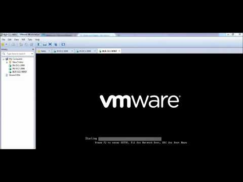 How to add a client machine to a Domain by using VMWare Workstation