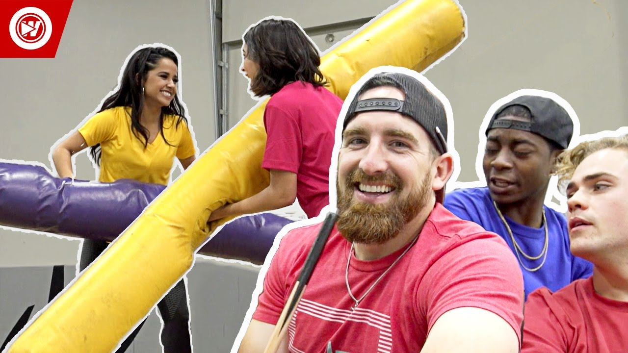 Dude Perfect vs. Power Rangers | The Making Of