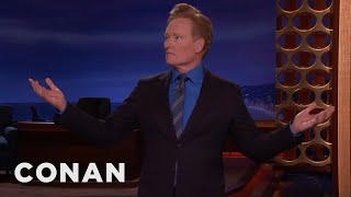 Conan Reveals Trump's 2020 Campaign Slogan  - CONAN on TBS