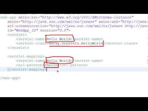 Jsp Servlet 8: Servlet Mapping