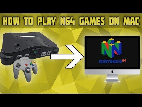 How to Play Nintendo 64 Games on Mac! N64 Emulator for Mac! Nintendo 64 Mac Emulator!