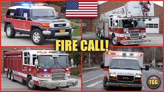 *EVERYONE GOES!* [Tigard] TVF&R Heavy Rescue, Truck, Car 51 & Ambulance Responding!