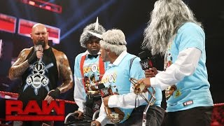 "The New Day meet ""The Old Day"": Raw, Sept. 5, 2016"