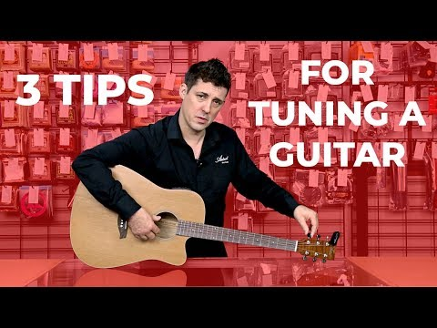3 Tips for Tuning a Guitar
