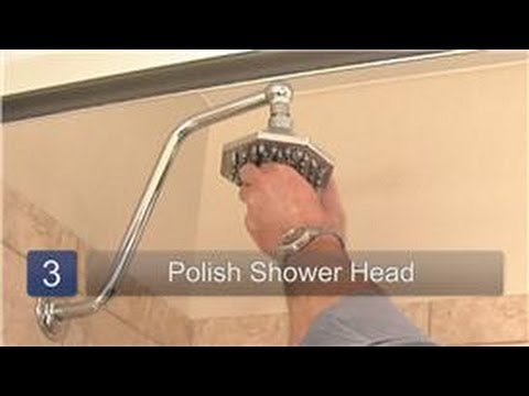 Cleaning Your Shower : How to Clean Hard Water on a Shower Head