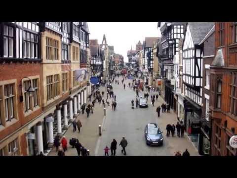 Chester city center