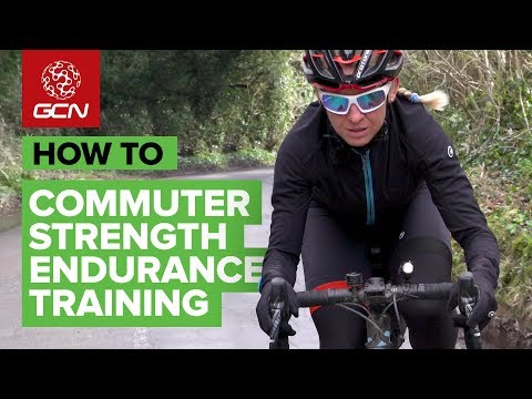 How To Train On Your Commute | Strength Endurance Training