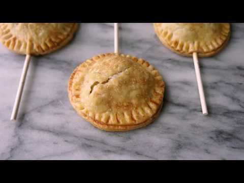 How to Make Apple and Honey Pie Pops