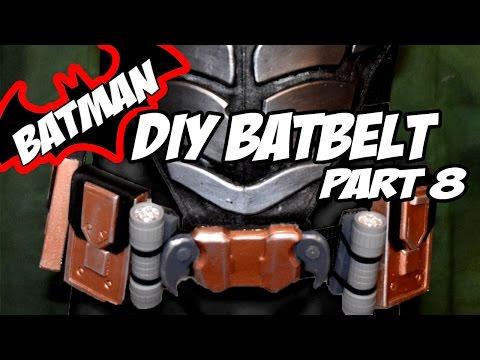 Batman Arkham Knight BatBelt How to DiY Costume Cosplay Part 8