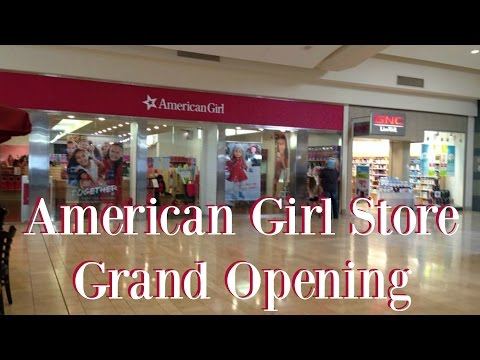 American Girl Doll Store Opening ~ Mission Viejo, California