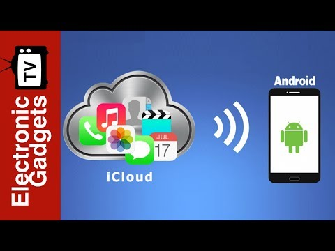 How To Use iCloud On Android Phones?