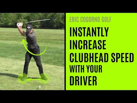 GOLF: How To Increase Clubhead Speed With Your Driver
