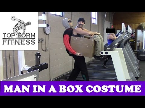 Man In a Box DIY Illusion Costume - How to Make it (Halloween)