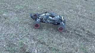 RCMAX 71cc baja with BRP super spike tyres - Getplaypk   The