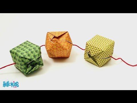 Origami Chinese lantern (Hellokids)
