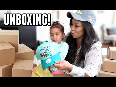UNBOXING SURPRISE PACKAGES!!! -  ItsJudysLife Vlogs