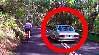Death Wish BMW Driving Caught On Dash Cam Слабоумие и отвага