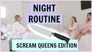 Summer Night Routine scream Queens Edition V Squad