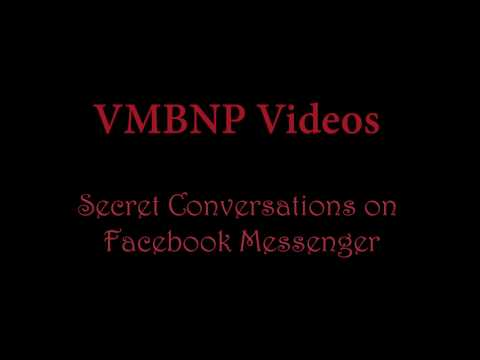 Secret Conversations on Facebook Messenger