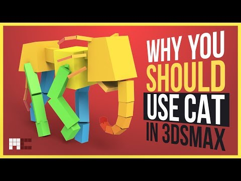 Why You Should Use CAT When Animating in 3ds Max