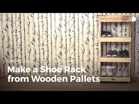 Pallet Ideas: Build a Shoe Rack | Upcycling