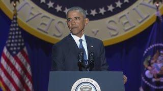President Obama delivers farewell address