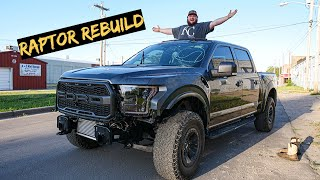 My Wrecked Ford Raptor Has Come a Long Way + (Upgrades)
