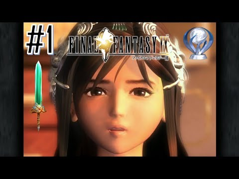 Final Fantasy IX PS4 Perfect Excalibur II (COMBINED PATH) Platinum Walkthrough Part 1