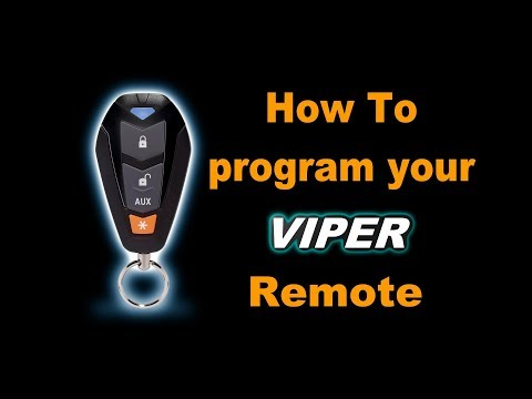 🤠   DIY: How to program your Viper Remote Entry Key FOB. Easy Walk Through Guide.