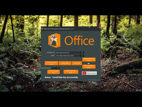 Activate Microsoft Office 2016 Permanently Free
