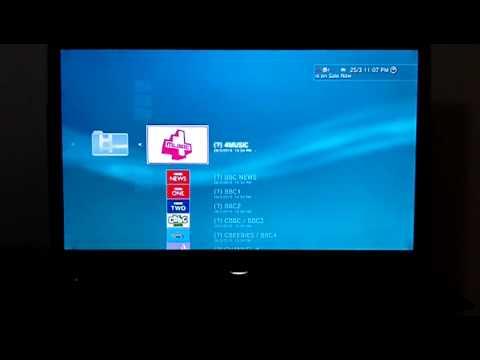 British TV streaming onto PS3