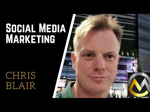 Chris Blair Talking Building a Brand and Social Media Marketing Strategies