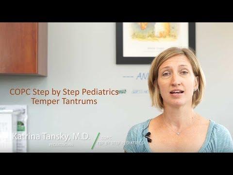 15-month-old Temper Tantrums