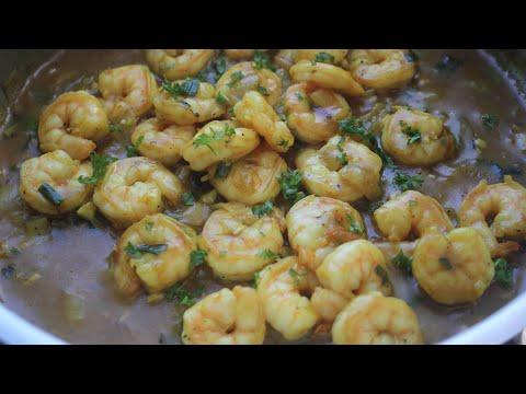Jamaican Coconut Curry Shrimp || Coconut Curried Shrimp