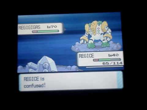 Pokemon Diamond: Me Catching Regigigas