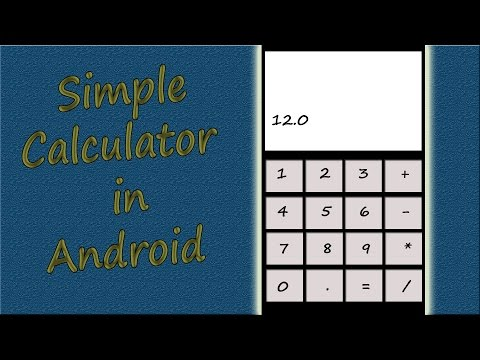 Android Studio Hindi Tutorial 7 # Make Simple Calculator App