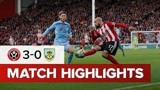 Sheffield United 3-0 Burnley   Premier League highlights