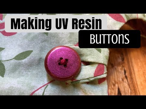 Making UV Resin Buttons | Watch Me UV Resin