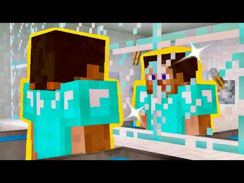 How to Make a MIRROR in Minecraft! - Minecraft Commands