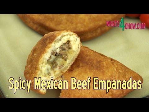 How to Make Spicy Beef Empanadas - Crispy, Tasty Mexican Deep Fried Beef Pies