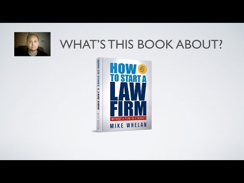 How To Start A Law Firm Without A Plan Or A Budget