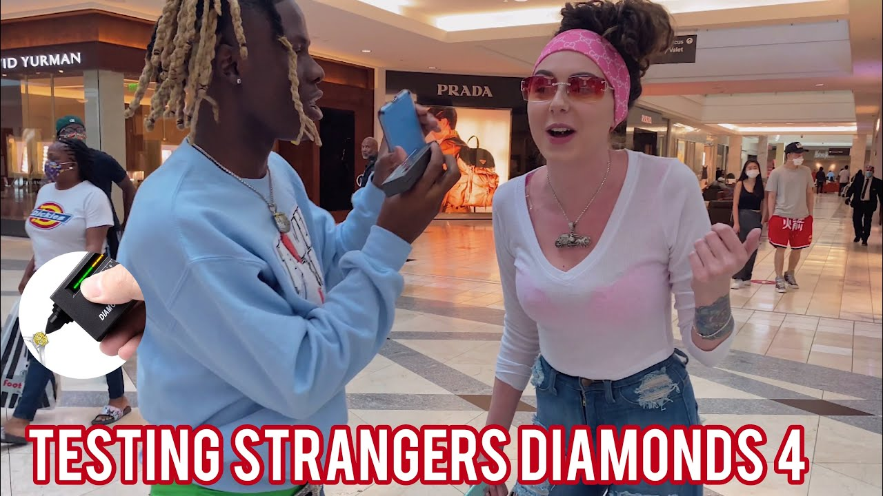 Testing Strangers Diamonds 😭💎 Pt. 4 - Atlanta Mall Edition | Public Interview