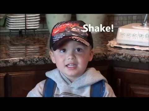 How to Make a Tropical Colada Protein Shake - by Preston Lang (age 4)