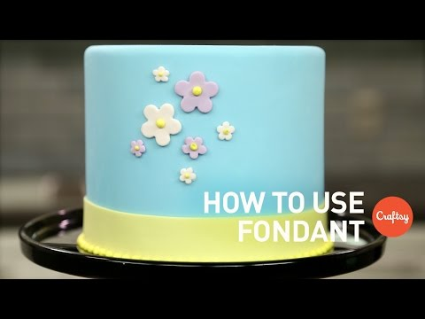 How to Use Fondant (4 Tips)  | Cake Decorating Tutorial