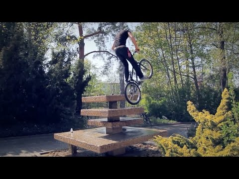 Andi Schuster - Street Bike Trial Ratisbona