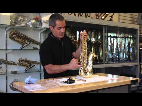 Saxophone Care Part 2- How to Clean a Saxophone.