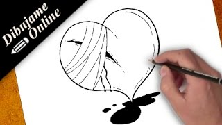 Como Dibujar Un Corazon Roto Videos 9videos Tv