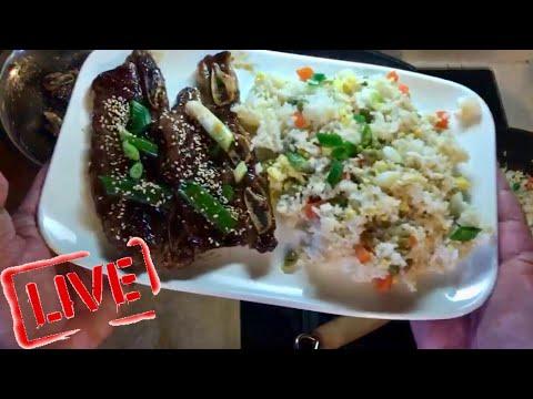 Korean BBQ Short Ribs and Garlic Fried Rice Recipe